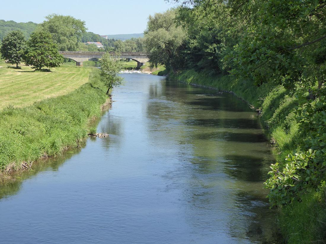 Flusslauf der Rhume